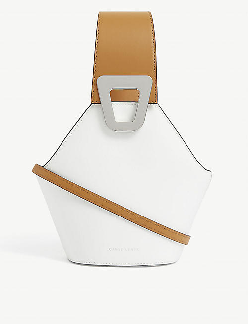 DANSE LENTE: Johnny XS leather shoulder bag