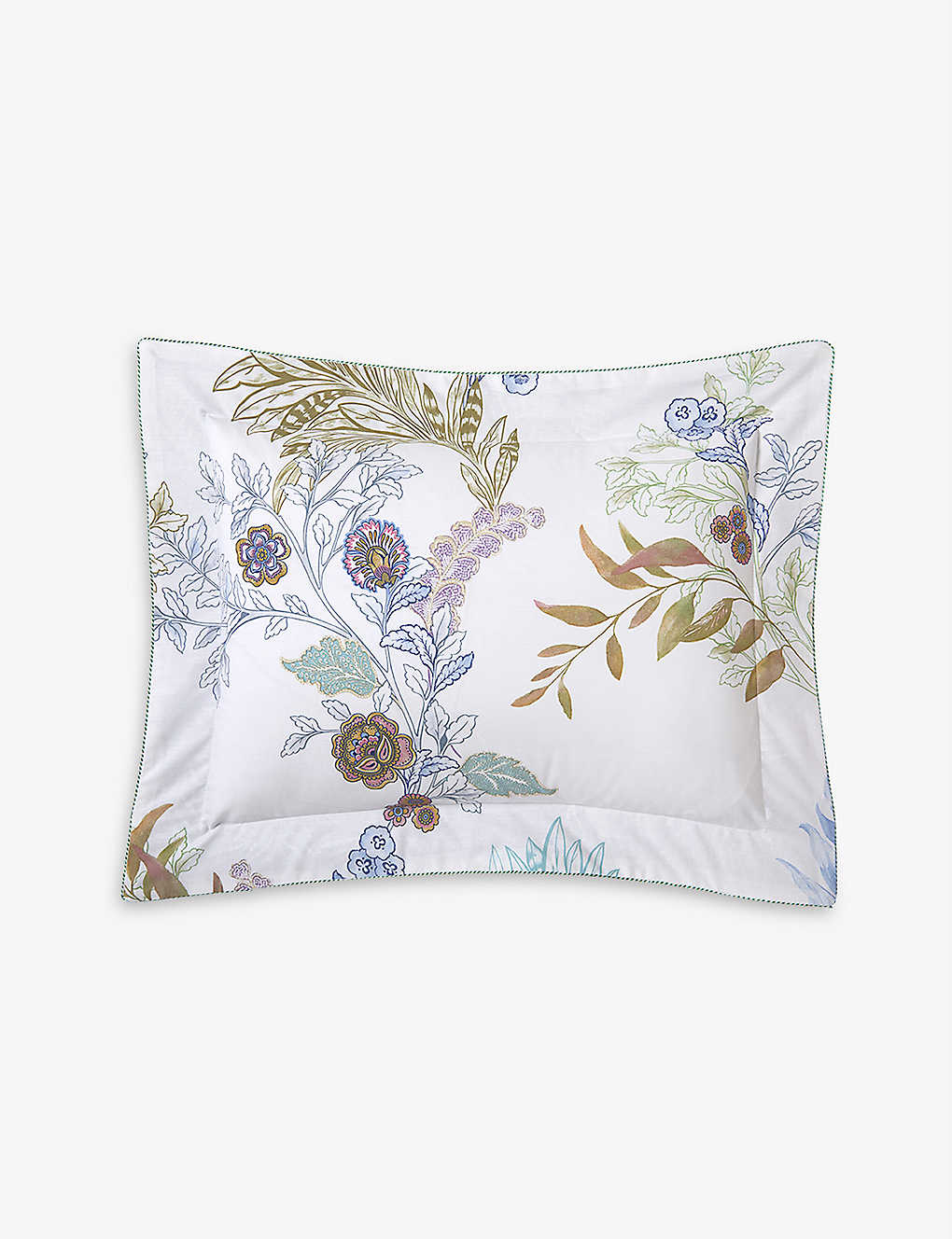 YVES DELORME: Caliopée cotton-percale boudoir pillowcase 30cm x 40cm