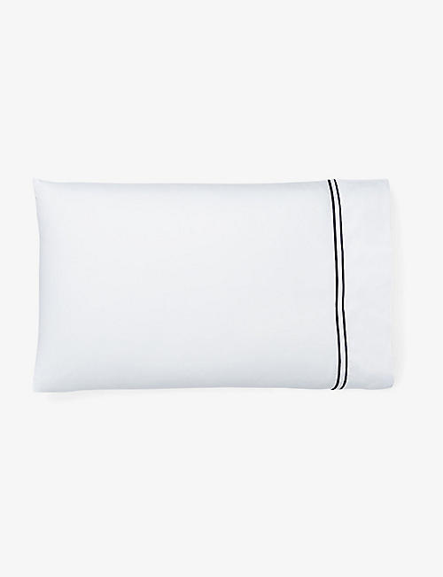 RALPH LAUREN HOME: Penthouse cotton-jacquard pillowcase 50cm x 75cm