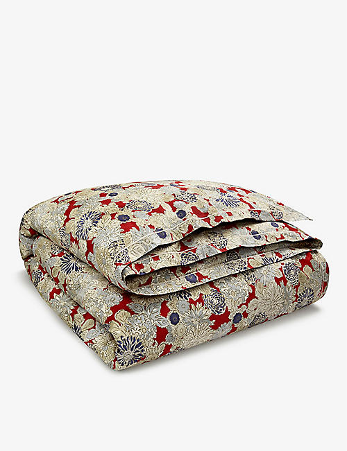 RALPH LAUREN HOME: Penthouse cotton-jacquard duvet cover