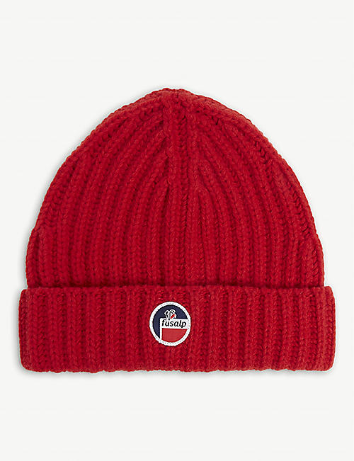 FUSALP: Griaz wool and cashmere beanie hat