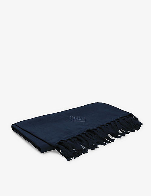 RALPH LAUREN HOME: Penthouse linen throw 140x180cm