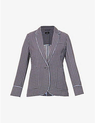ME AND EM: Single-breasted woven blazer