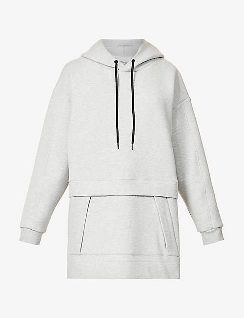 3.1 PHILLIP LIM: Air Cushion oversized cotton-blend hoody