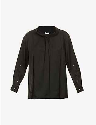 3.1 PHILLIP LIM: Oversized crepe shirt