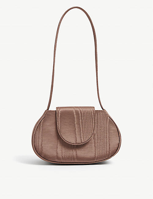 FOR THE AGES: Ineva Baguette cotton-blend bag