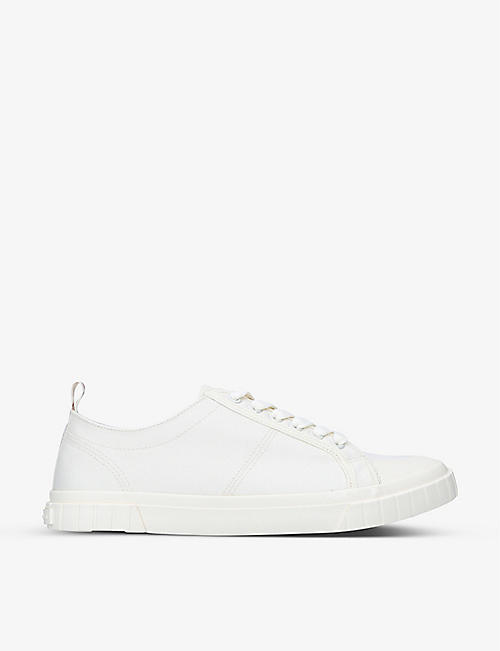KG KURT GEIGER: Kandid low-top canvas trainers