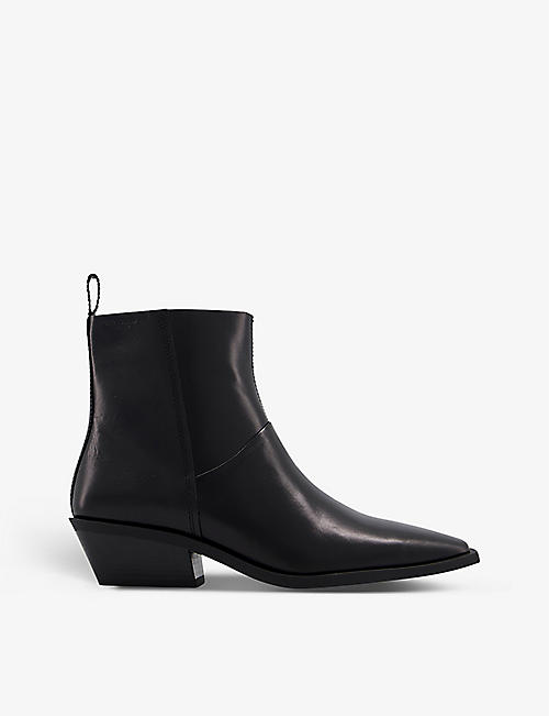 VAGABOND: Ally leather heeled Chelsea boots