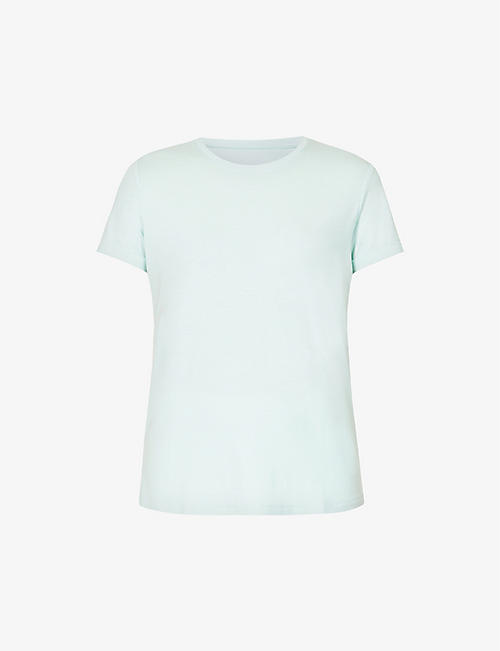 DEREK ROSE: Lara scoop-neck stretch-jersey T-shirt