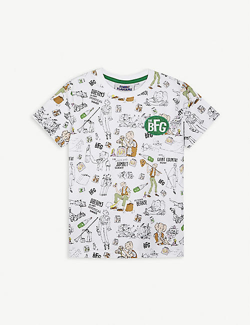 FABRIC FLAVOURS: BFG cotton T-shirt 3-10 years