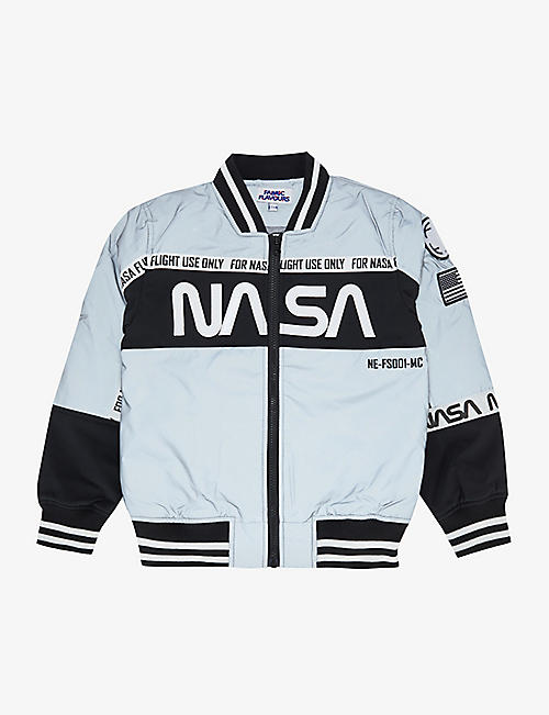 FABRIC FLAVOURS: Nasa shell jacket 3-10 years