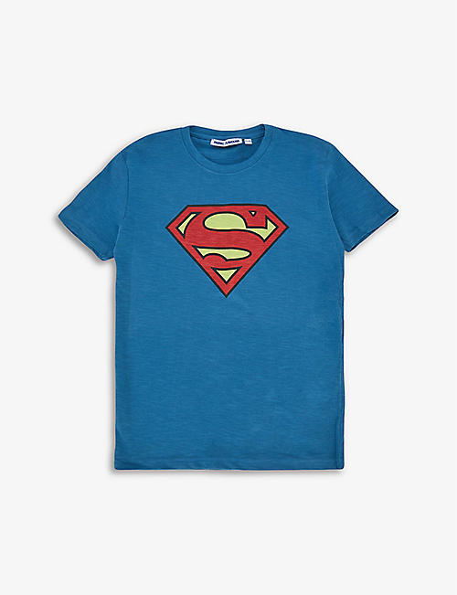 FABRIC FLAVOURS: Superman cotton T-shirt 3-10 years