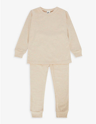 SLEEPY DOE: Confetti organic cotton pyjama set 1-9 years