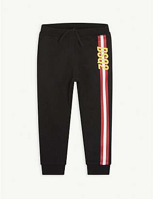 DSQUARED2: Logo-print cotton jogging bottoms 6-16 years