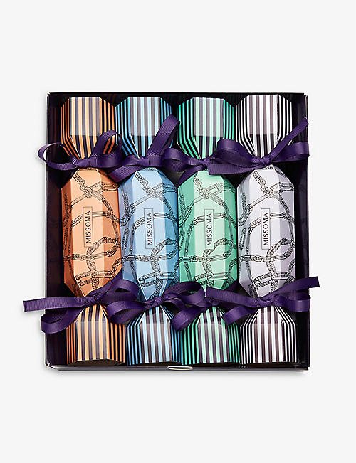 MISSOMA: Christmas crackers pack of four