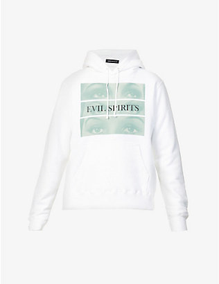 UNDERCOVER: Evil Spirits oversized cotton-jersey hoody