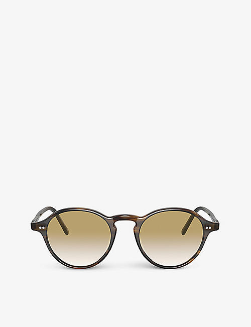 OLIVER PEOPLES: OV5445U square-frame acetate sunglasses