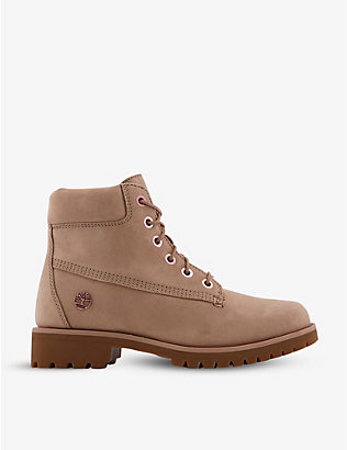 TIMBERLAND: Slim Premium 6-inch suede boots