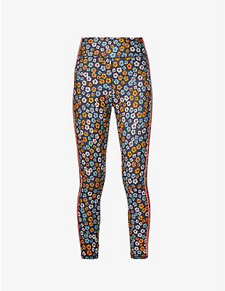 THE UPSIDE: Atacama Dance floral-print high-rise stretch-woven leggings