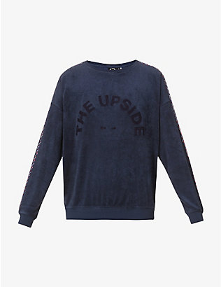 THE UPSIDE: Florencia Alena cotton-jersey sweatshirt