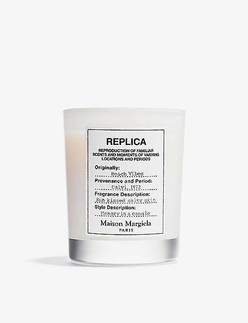 MAISON MARGIELA: Replica Beach Vibes scented candle 165g