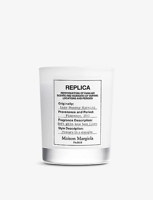 MAISON MARGIELA: Replica Lazy Sunday Morning scented candle 165g