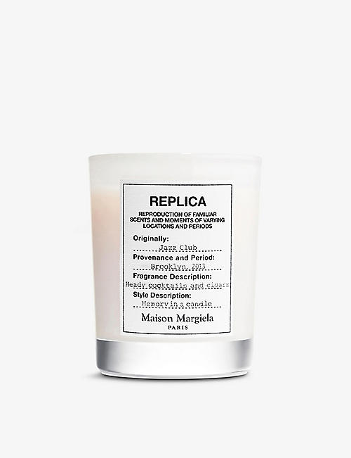 MAISON MARGIELA: Replica Jazz Club scented candle 165g