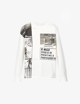 THE SOLOIST: From The Past text-print cotton-jersey top