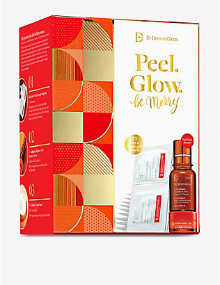 DR DENNIS GROSS SKINCARE: Peel Glow Be Merry gift set