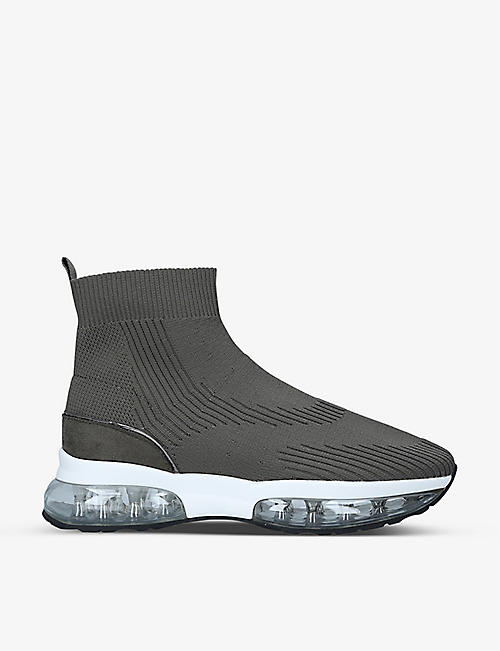 CARVELA: Link Bubble stretch-knit sock trainers