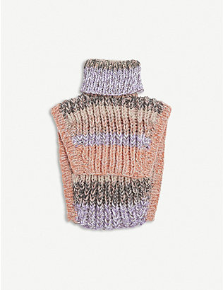 NITH: Upcycled Tom turtleneck wool-blend tabard