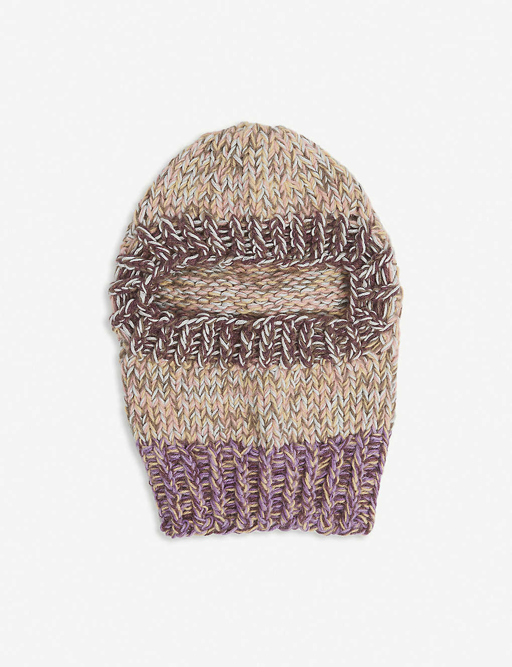 NITH Upcycled Uma knitted balaclava
