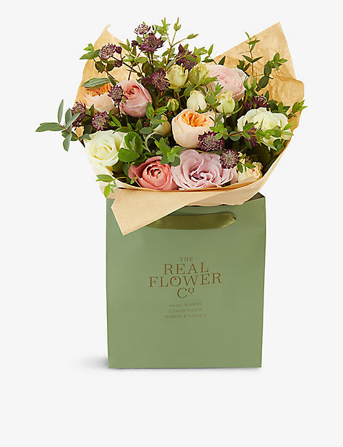 THE REAL FLOWER COMPANY: Romantic Juliet small scented bouquet