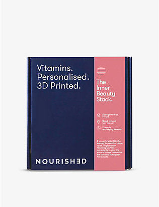 NOURISHED: Monthly Inner Beauty 3D-printed gummy vitamins x28 285.6g
