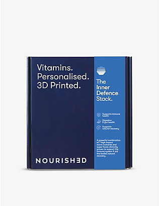 NOURISHED: Monthly Inner Defence 3D-printed gummy vitamins x28 285.6g