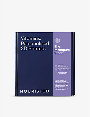 NOURISHED: Monthly Menopure 3D-printed gummy vitamins x28 285.6g