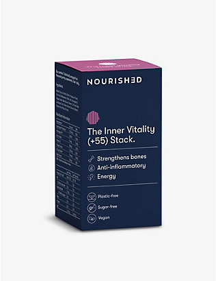 NOURISHED: Weekly Inner Vitality +55 3D-printed gummy vitamins x7 71.4g