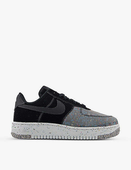 NIKE: Air Force 1 Crater leather trainers