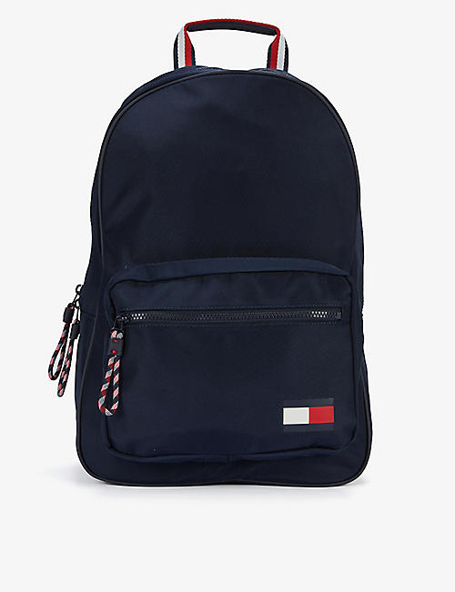 TOMMY HILFIGER: Flagback branded shell backpack