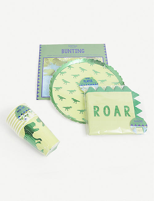 GINGER RAY: Roarsome paper party bundle