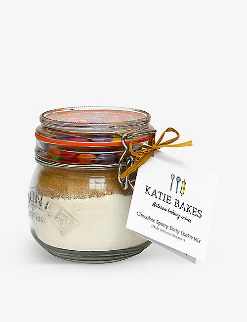 CHRISTMAS: Katie Bakes Chocolate Chip Cookie Mix Jar 500g