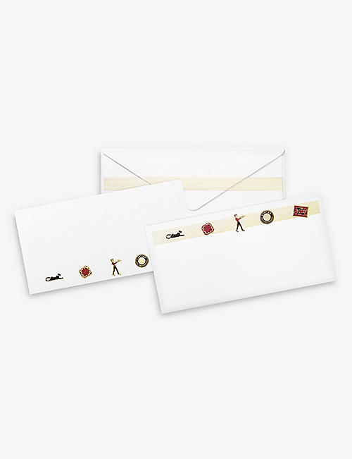 CARTIER: Diabolo de Cartier cards and envelopes pack of 12