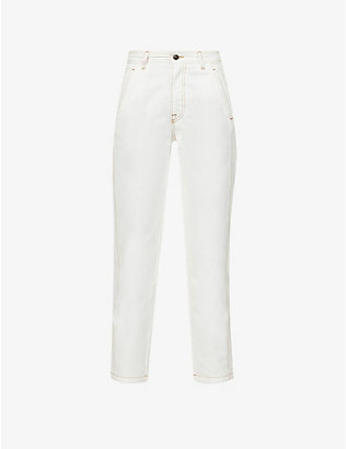 PORTS 1961: Straight high-rise jeans