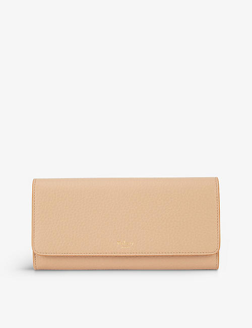 MULBERRY: Continental grained leather wallet