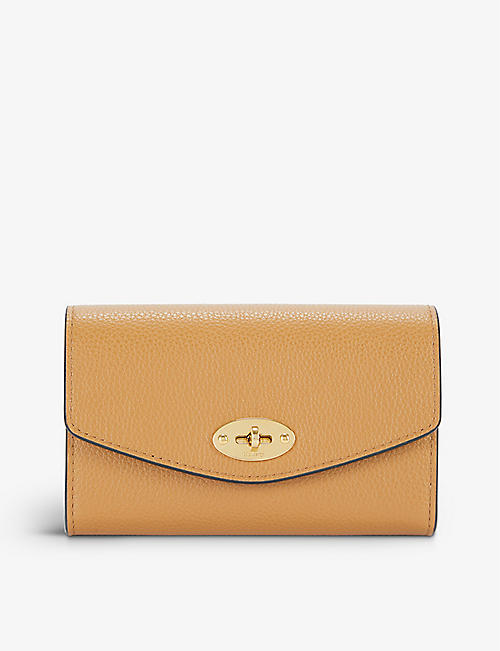 MULBERRY: Darley medium leather wallet