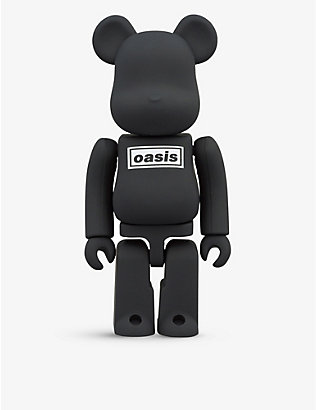 BE@RBRICK: Oasis Black graphic-print 1000% figure