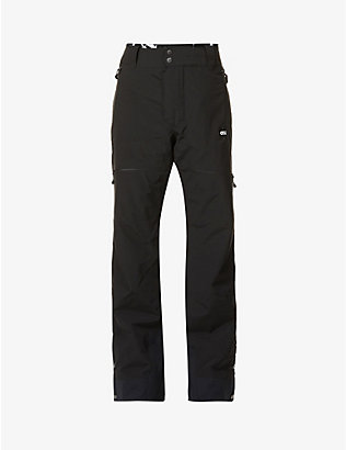 PICTURE ORGANIC CLOTHING: Naikoon contrast-print boot-cut woven trousers
