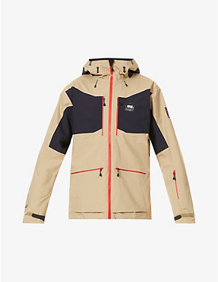PICTURE ORGANIC CLOTHING: Naikoon zipped recycled-polyester blend hooded ski jacket