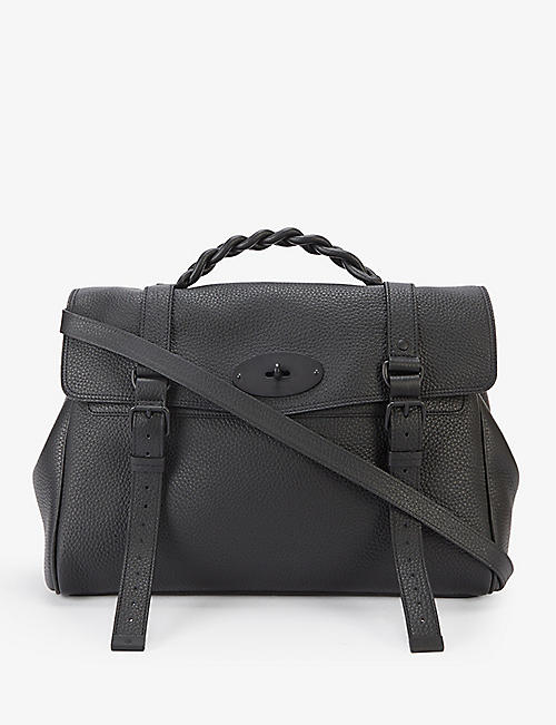 MULBERRY: Alexa leather top-handle bag