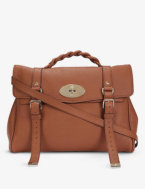 MULBERRY: Alexa oversized leather satchel bag